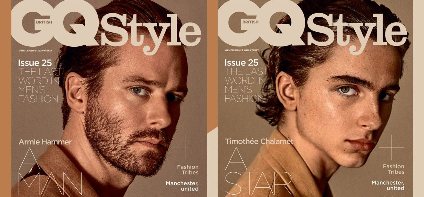 Armie Hammer and Timothée Chalamet Cover GQ Style