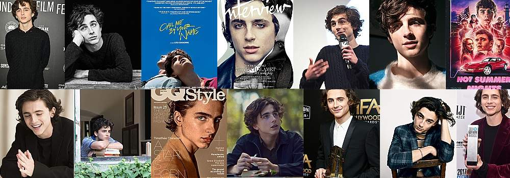 A Year in Review: Timothée Chalamet