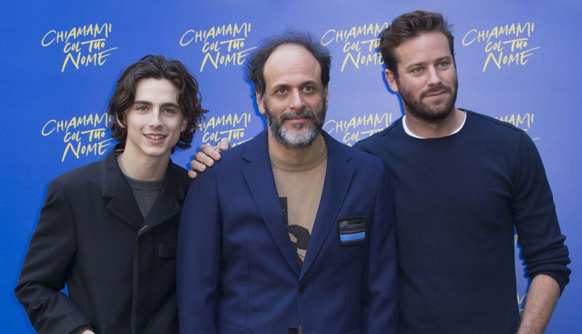 """Call Me by Your Name"" Photocall in Rome"